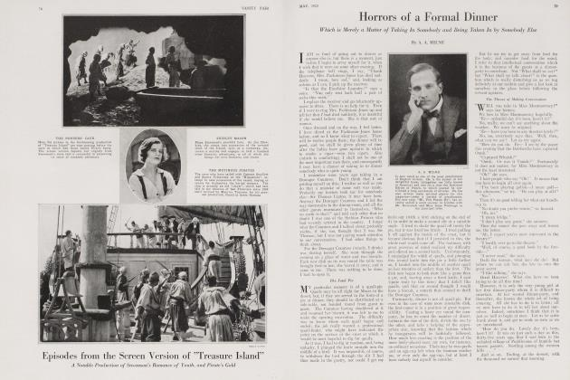 Article Preview: Horrors of a Formal Dinner, May 1920 1920   Vanity Fair