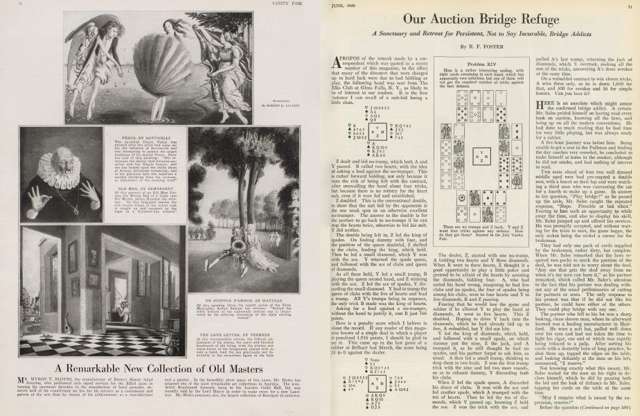 Our Auction Bridge Refuge