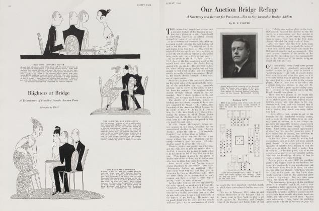Article Preview: Our Auction Bridge Refuge, August 1920 1920   Vanity Fair
