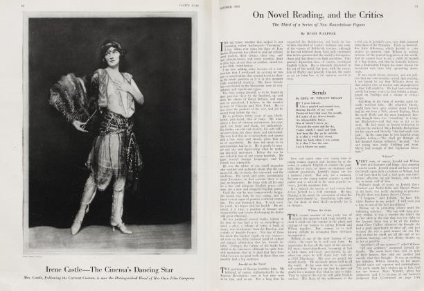 On Novel Reading, and the Critics