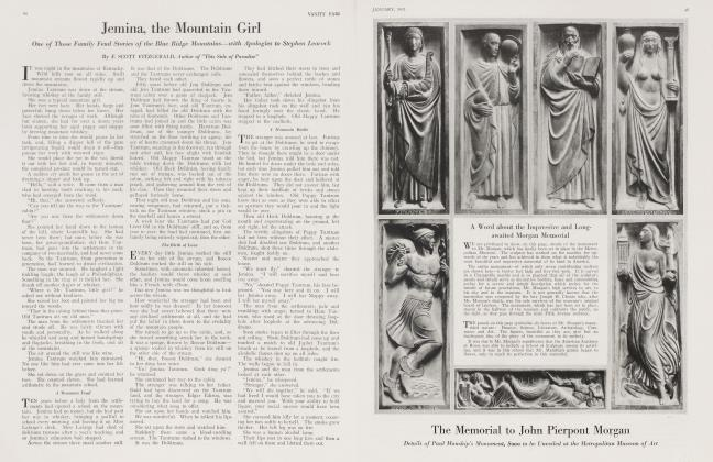 Article Preview: Jemina, the Mountain Girl, January 1921 1921 | Vanity Fair