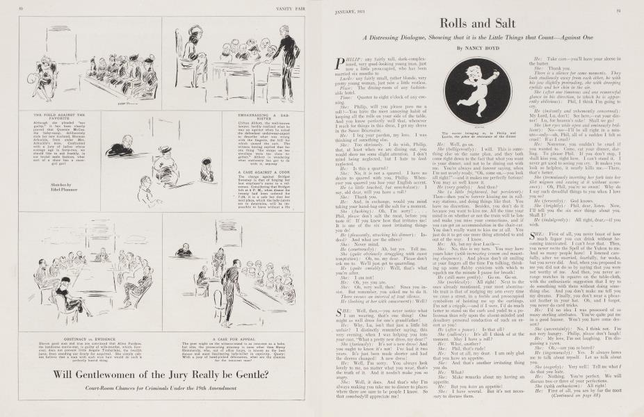 Rolls and Salt