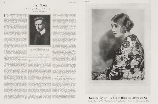 Article Preview: Cyril Scott, March 1921 1921 | Vanity Fair