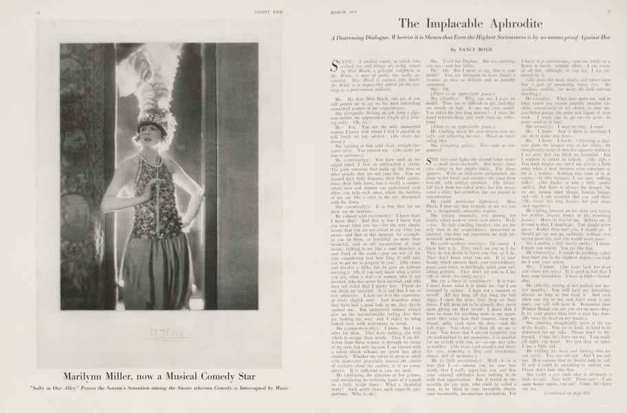 The Implacable Aphrodite