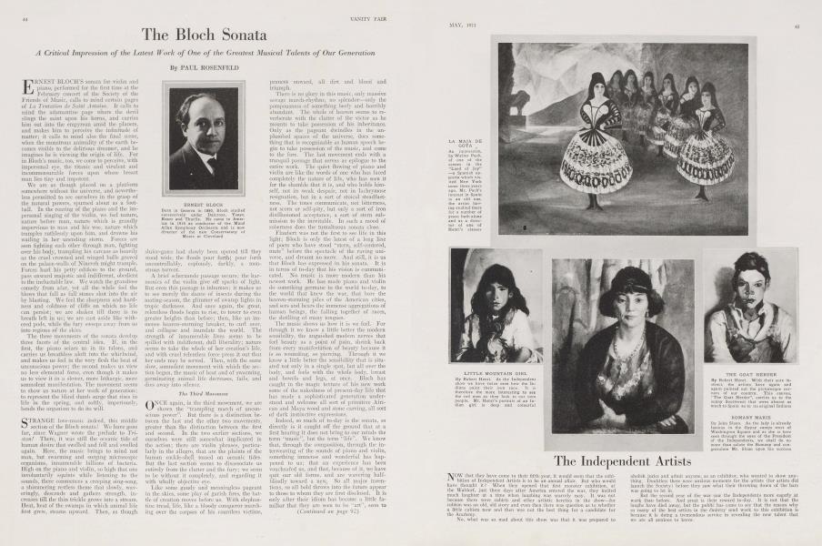 The Bloch Sonata