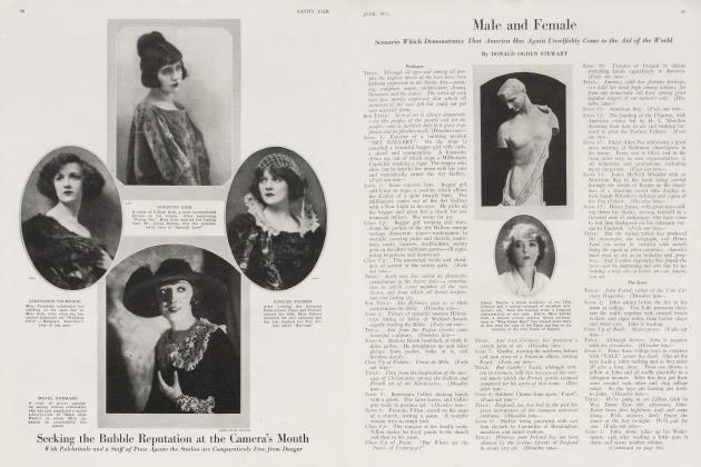Article Preview: Male and Female, June 1921 1921 | Vanity Fair