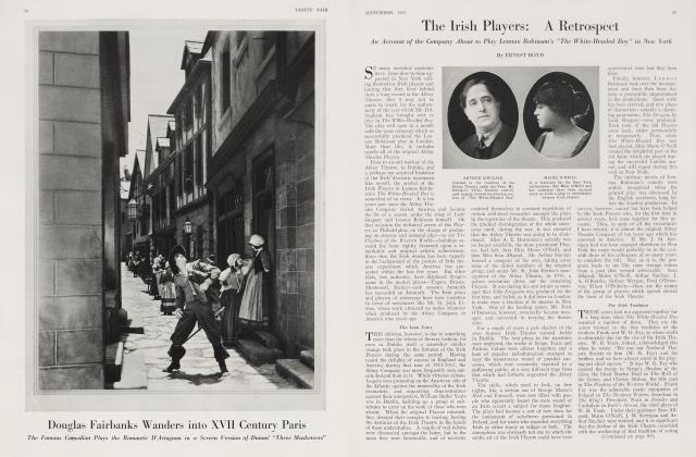 Article Preview: The Irish Players: A Retrospect, September 1921 1921 | Vanity Fair