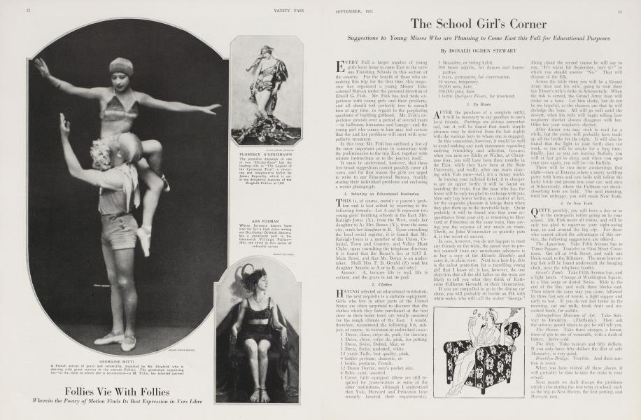 The School Girl's Corner