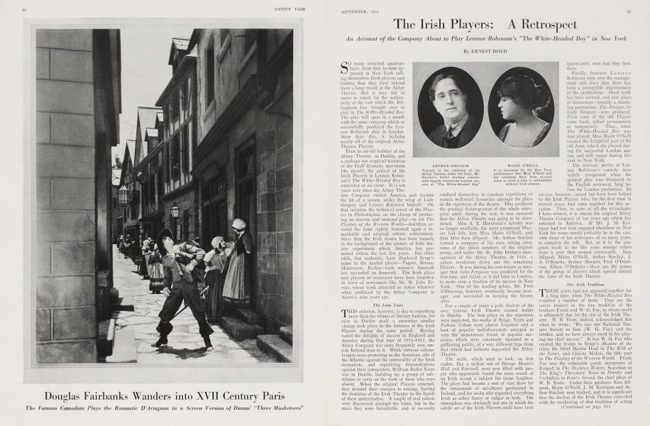 The Irish Players: A Retrospect