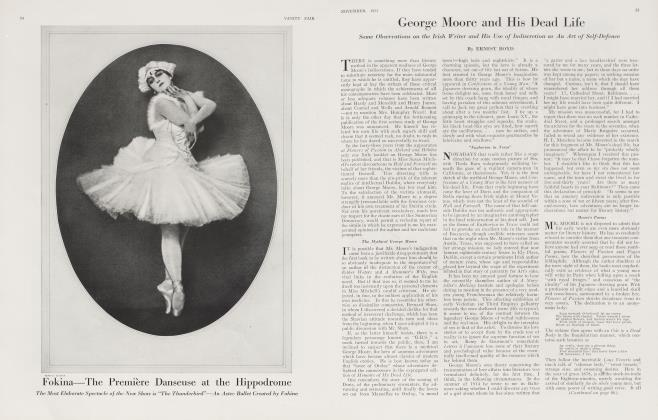 Article Preview: George Moore and His Dead Life, November 1921 1921 | Vanity Fair