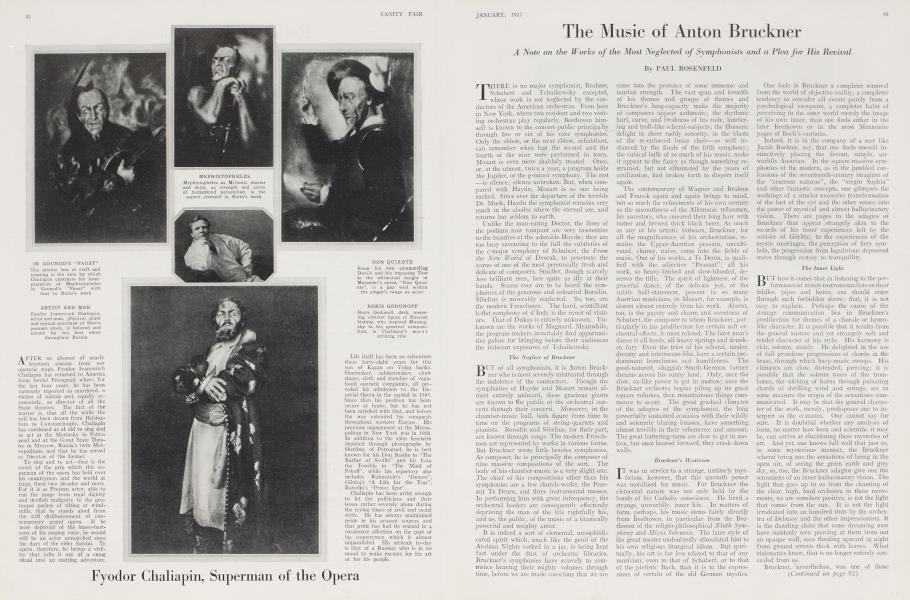 The Music of Anton Bruckner