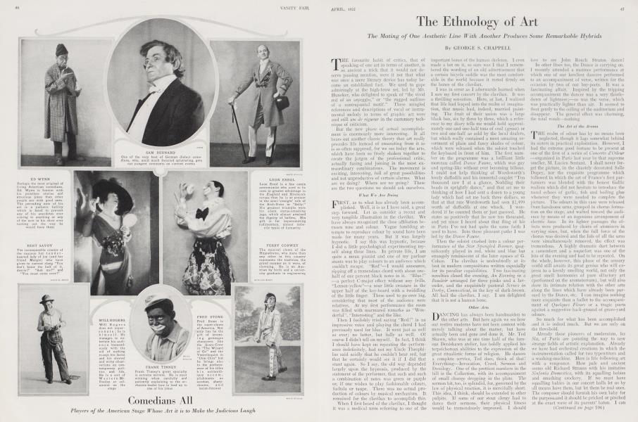 The Ethnology of Art