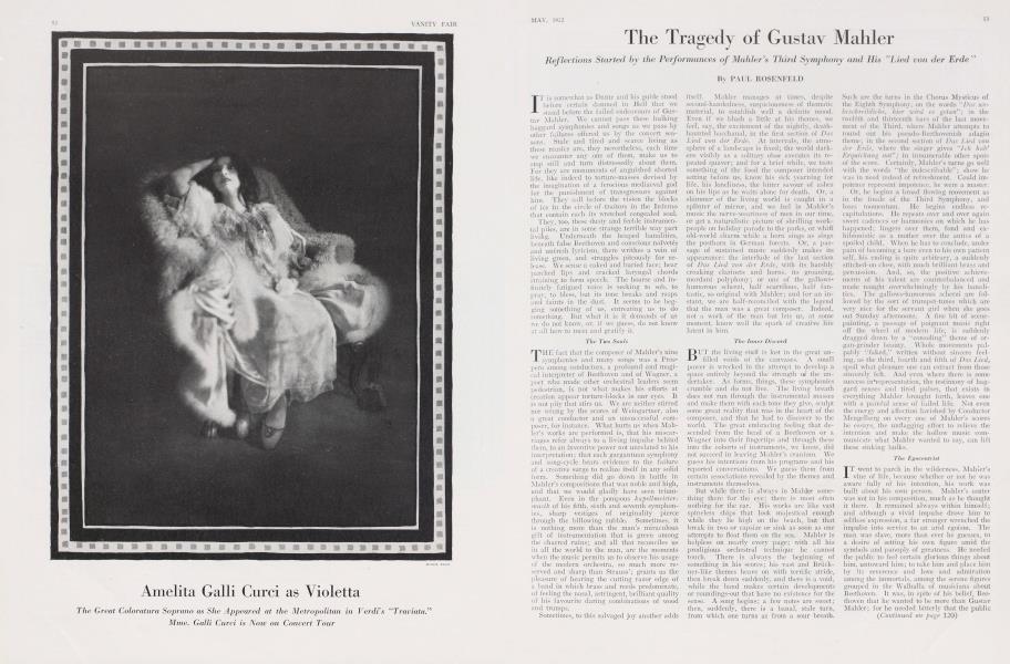 The Tragedy of Gustav Mahler