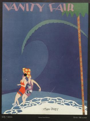 July 1922 | Vanity Fair