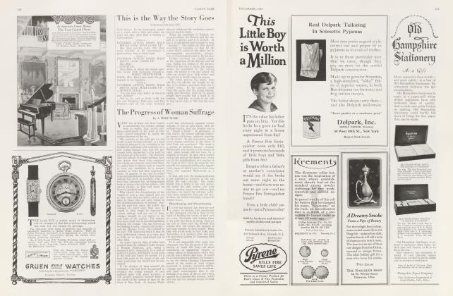 Article Preview: The Progress of Woman Suffrage, December 1922 1922   Vanity Fair