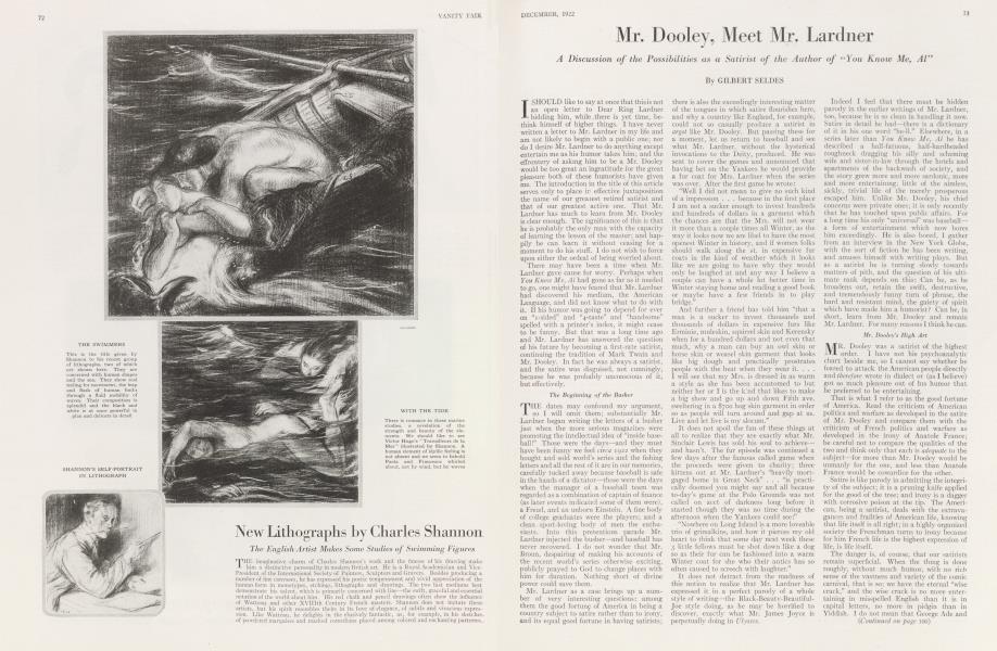 Mr. Dooley, Meet Mr. Lardner