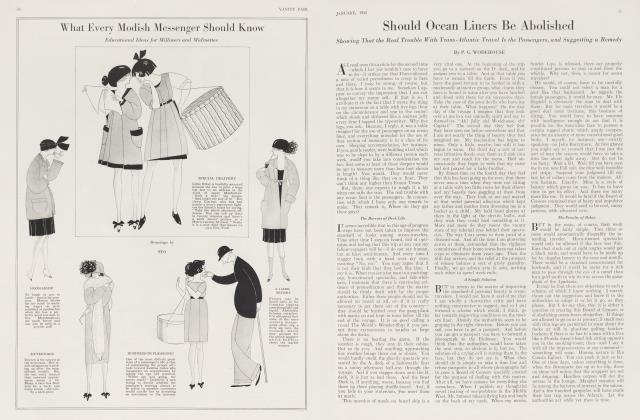 Article Preview: Should Ocean Liners Be Abolished, January 1923 1923 | Vanity Fair
