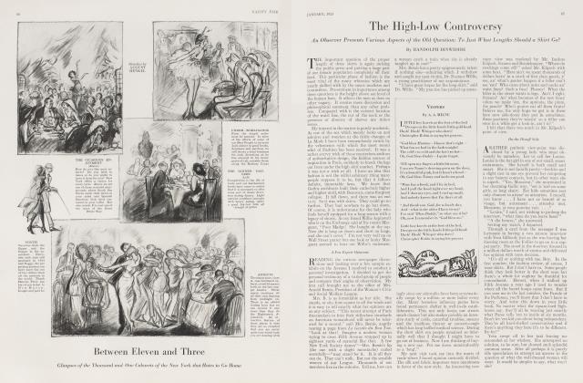 Article Preview: VESPERS, January 1923 1923   Vanity Fair