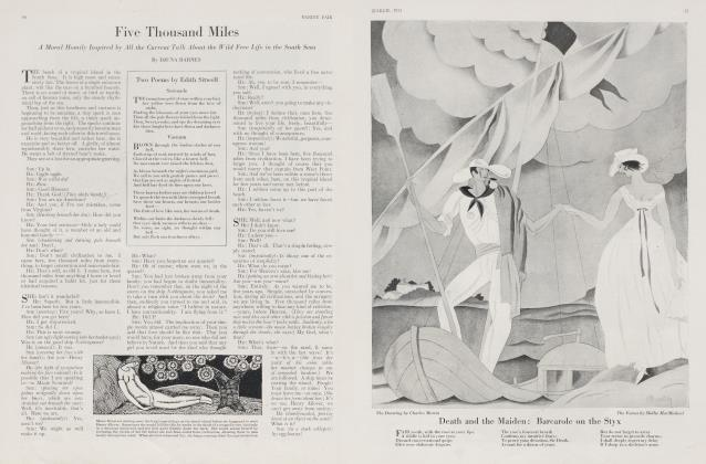 Article Preview: Five Thousand Miles, March 1923 1923 | Vanity Fair