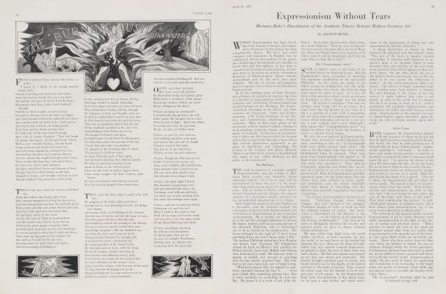 Article Preview: Expressionism Without Tears, March 1923 1923 | Vanity Fair