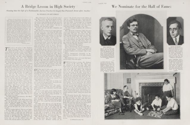 Article Preview: A Bridge Lesson in High Society, March 1923 | Vanity Fair