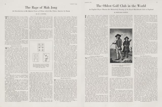 Article Preview: The Rage of Mah Jong, March 1923 | Vanity Fair