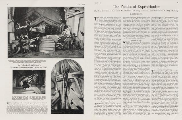 Article Preview: The Poetics of Expressionism, April 1923 1923 | Vanity Fair