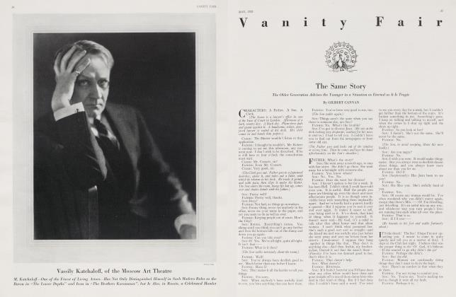 Article Preview: The Same Story, May 1923 | Vanity Fair