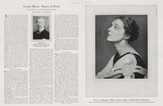 Article Preview: George Moore: Master of Prose, May 1923 | Vanity Fair