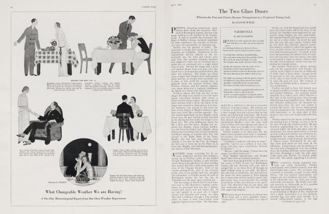 Article Preview: VAUDEVILLE, May 1923 1923 | Vanity Fair