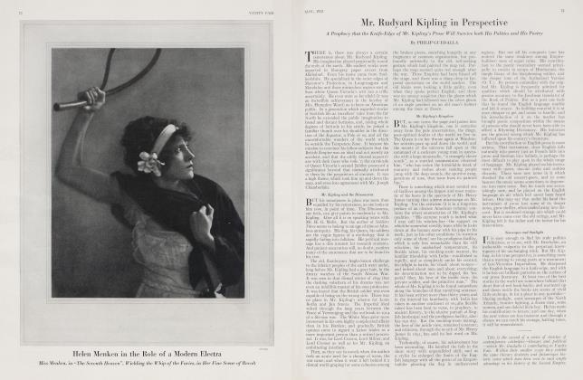 Article Preview: Mr. Rudyard Kipling in Perspective, May 1923 1923 | Vanity Fair