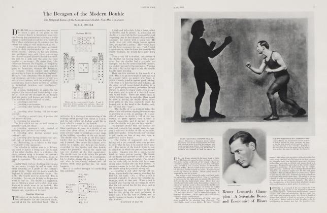 Article Preview: The Decagon of the Modern Double, May 1923 | Vanity Fair