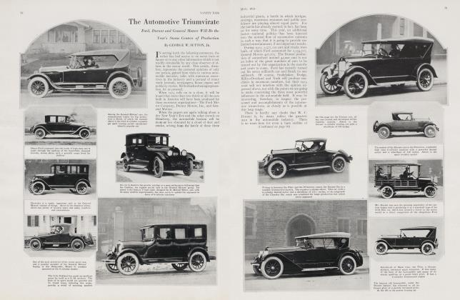 Article Preview: The Automotive Triumvirate, May 1923 | Vanity Fair