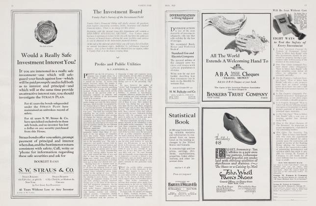 Article Preview: Profits and Public Utilities, May 1923 | Vanity Fair
