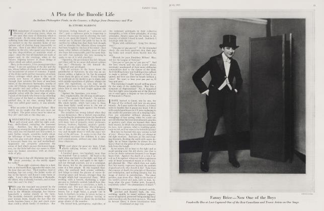 Article Preview: Fanny Brice—Now One of the Boys, June 1923 1923 | Vanity Fair