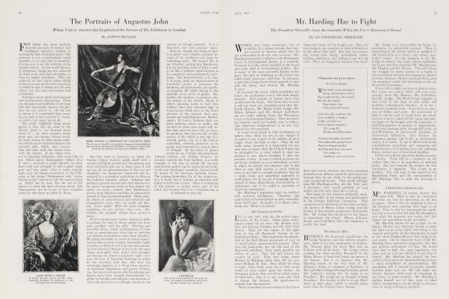 Article Preview: The Portraits of Augustus John, July 1923 1923 | Vanity Fair
