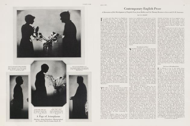 Article Preview: Contemporary English Prose, July 1923 1923 | Vanity Fair