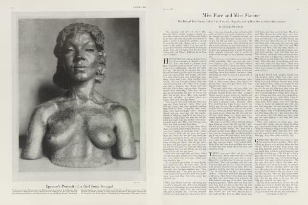 Article Preview: Miss Furr and Miss Skeene, July 1923 | Vanity Fair