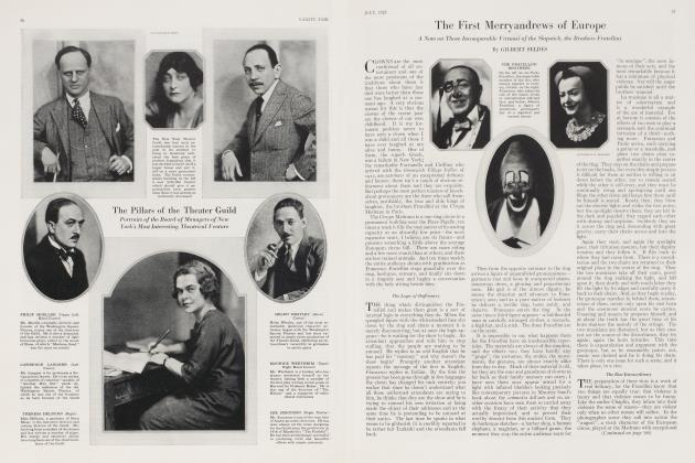 Article Preview: The First Merryandrews of Europe, July 1923 | Vanity Fair