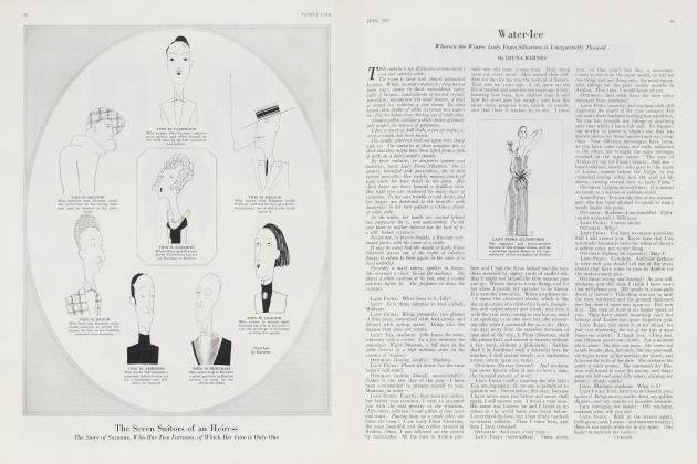 Article Preview: Water-Ice, July 1923 1923 | Vanity Fair