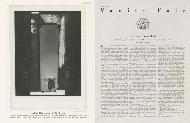 Article Preview: Freddie Comes Back, August 1923 1923 | Vanity Fair
