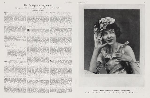 Article Preview: The Newspaper Colyumists, September 1923 1923 | Vanity Fair