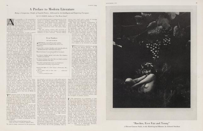 Article Preview: A Preface to Modern Literature, November 1923 1923 | Vanity Fair
