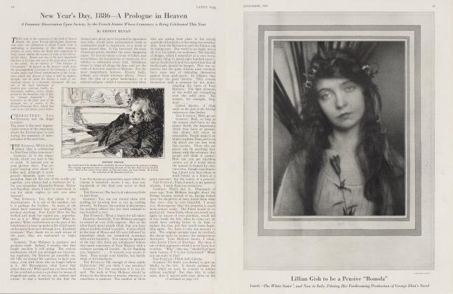 Article Preview: New Year's Day, 1886—A Prologue in Heaven, November 1923 | Vanity Fair