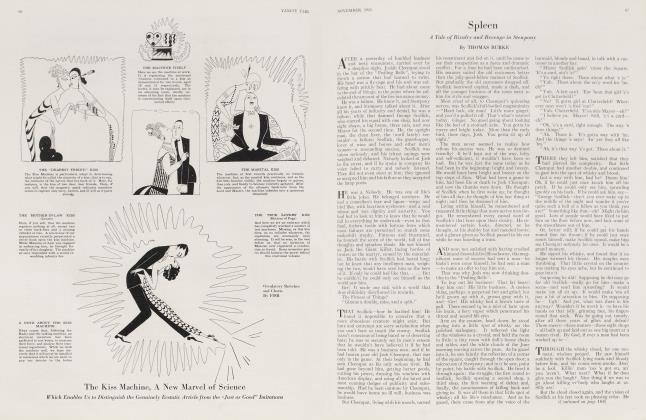 Article Preview: Spleen, November 1923 | Vanity Fair