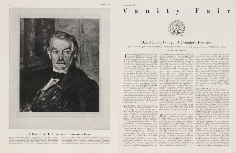 David Lloyd George: A Premier's Progress