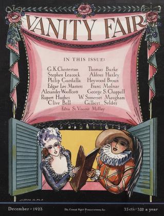 December 1923 | Vanity Fair