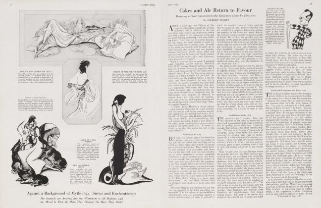 Article Preview: Cakes and Ale Return to Favour, May 1924 1924 | Vanity Fair