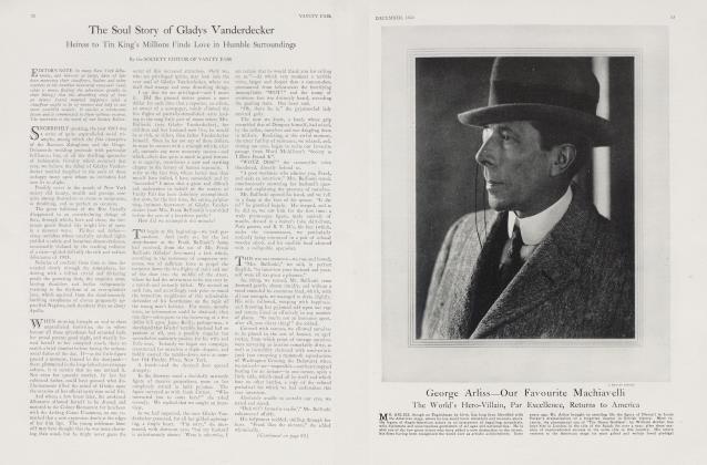 The Soul Story of Gladys Vanderdecker