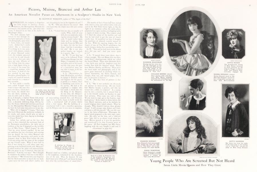 Picasso, Matisse, Brancusi and Arthur Lee
